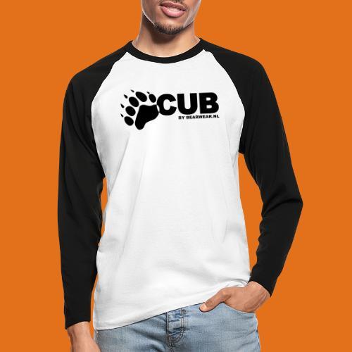 cub by bearwear sml - Men's Long Sleeve Baseball T-Shirt