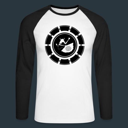 logo-jugntpellier_iron - T-shirt baseball manches longues Homme