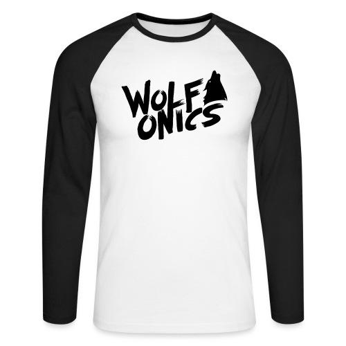 Wolfonics - Männer Baseballshirt langarm