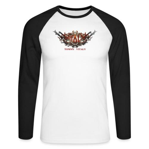logo2000aB 300dpi - Men's Long Sleeve Baseball T-Shirt