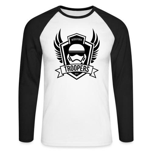 webstormtroopers_light_sh - Männer Baseballshirt langarm