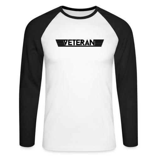 VetWingPlain - Langærmet herre-baseballshirt