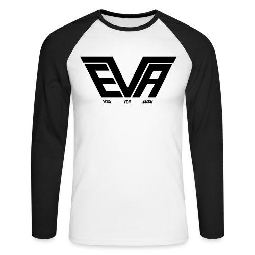 EVA Logo FB 01fürPfade - Männer Baseballshirt langarm