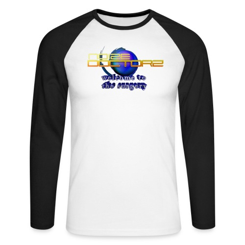 old logo welcome - Men's Long Sleeve Baseball T-Shirt