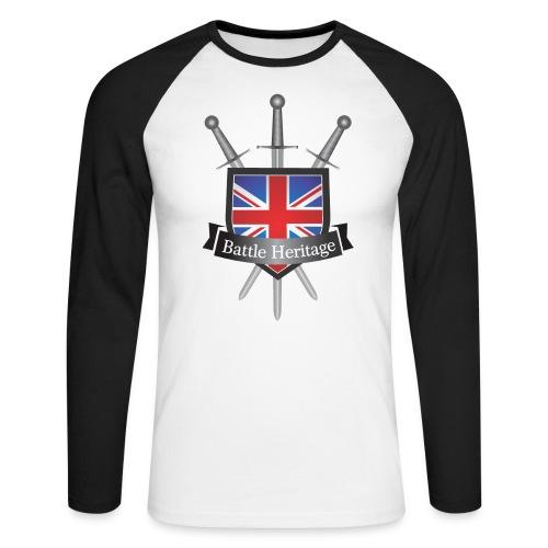 BH_TransparentBackground - Men's Long Sleeve Baseball T-Shirt