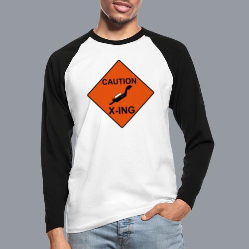 X-ing - Männer Baseballshirt langarm