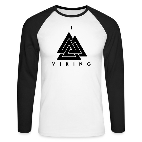 I lov Viking - T-shirt baseball manches longues Homme