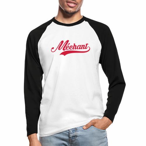 Sport 🏋🏿♂️ - T-shirt baseball manches longues Homme