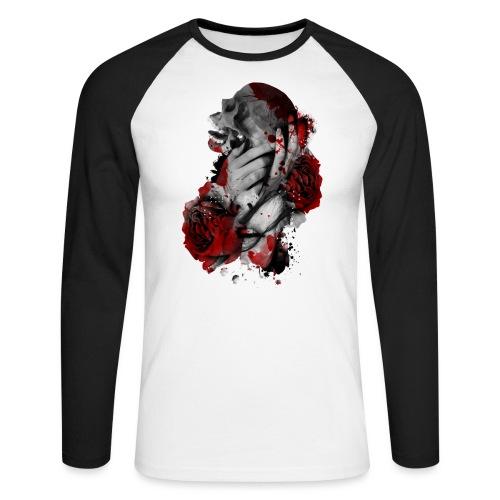 skullgirl - Raglán manga larga hombre
