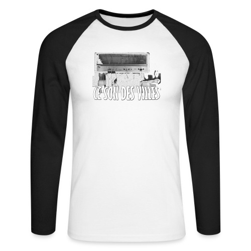 Trash by Lesondesvills - T-shirt baseball manches longues Homme