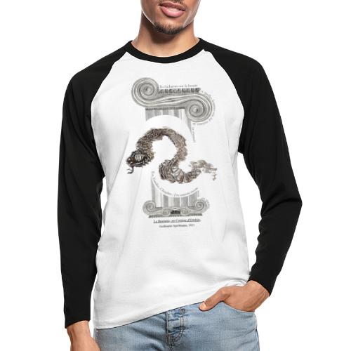 le Serpent - T-shirt baseball manches longues Homme