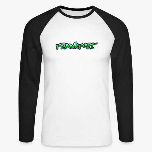 Gangster Frankfurt - Männer Baseballshirt langarm