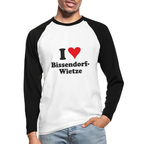 I Love Bissendorf-Wietze - Männer Baseballshirt langarm
