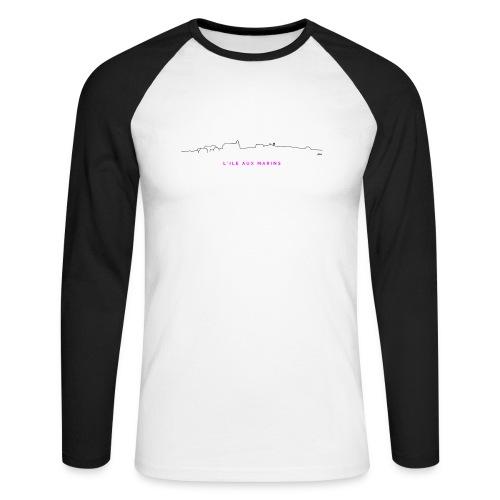 aLIX aNNIV - T-shirt baseball manches longues Homme