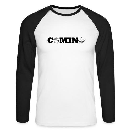 Camino - Langærmet herre-baseballshirt
