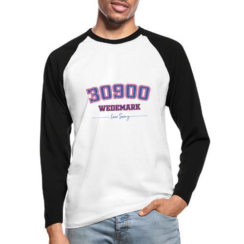 30900 Wedemark - Männer Baseballshirt langarm