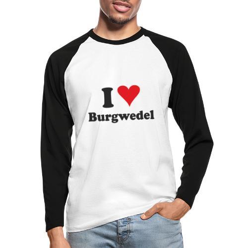 I Love Burgwedel - Männer Baseballshirt langarm