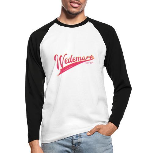 Wedemark retro surfer style - Männer Baseballshirt langarm