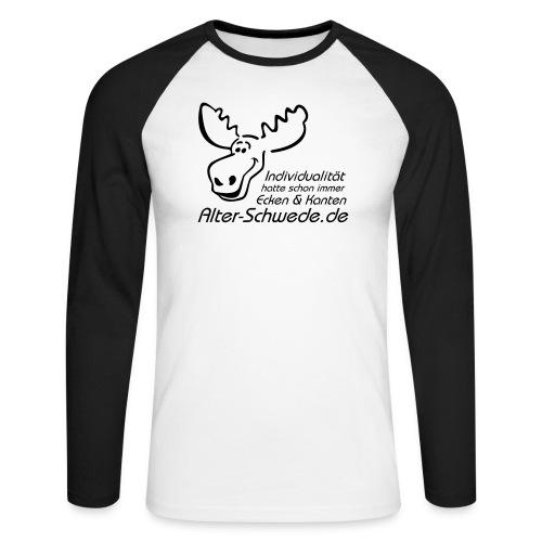 Individualität - Männer Baseballshirt langarm