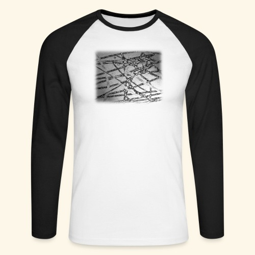Muster15.png - Männer Baseballshirt langarm