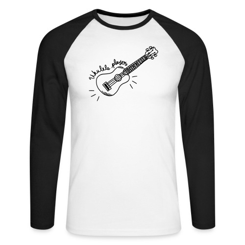 Ukulele player - T-shirt baseball manches longues Homme