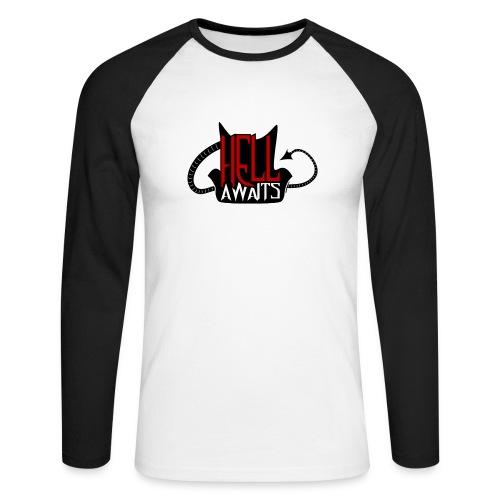 Hell Awaits - Mannen baseballshirt lange mouw