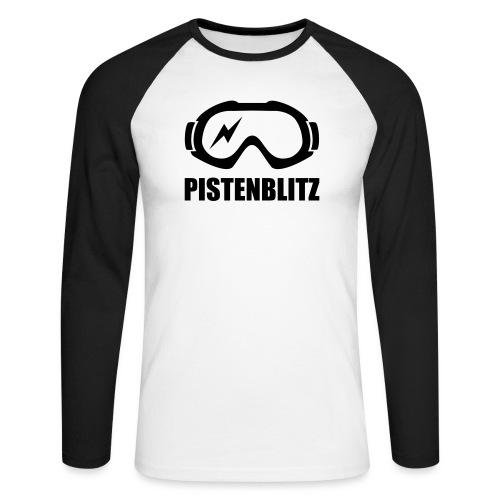 pistenblitz - Männer Baseballshirt langarm