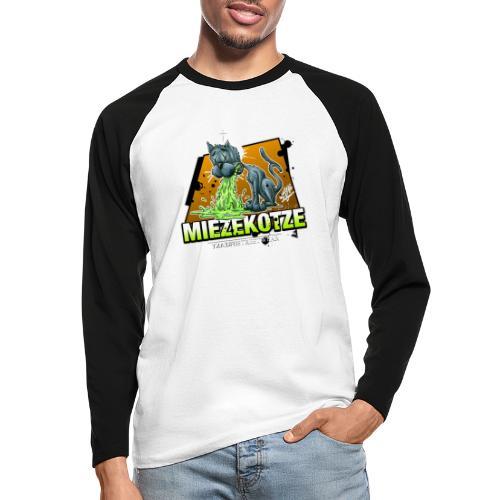 Miezekotze - Männer Baseballshirt langarm