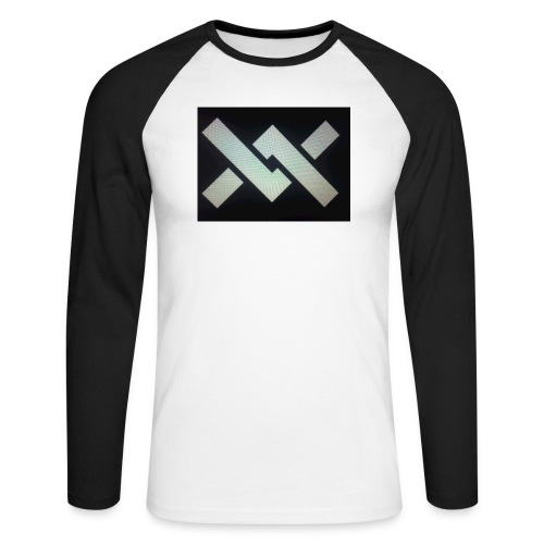 Original Movement Mens black t-shirt - Men's Long Sleeve Baseball T-Shirt