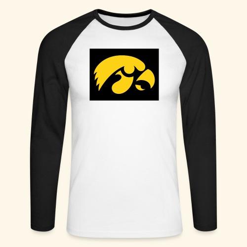 YellowHawk shirt - Mannen baseballshirt lange mouw