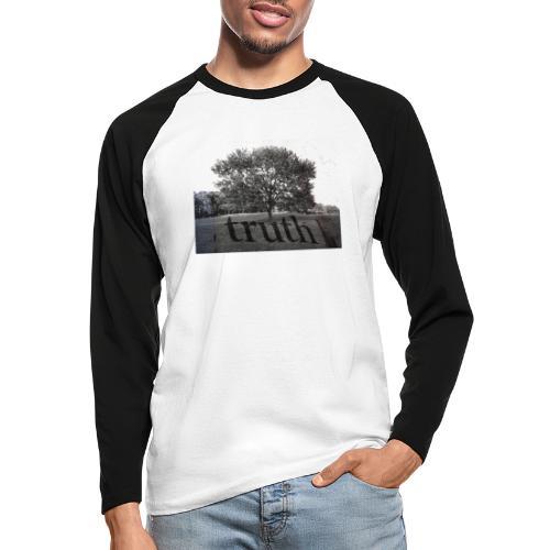 Truth - Men's Long Sleeve Baseball T-Shirt