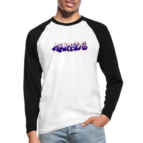 AARHUS - Langærmet herre-baseballshirt