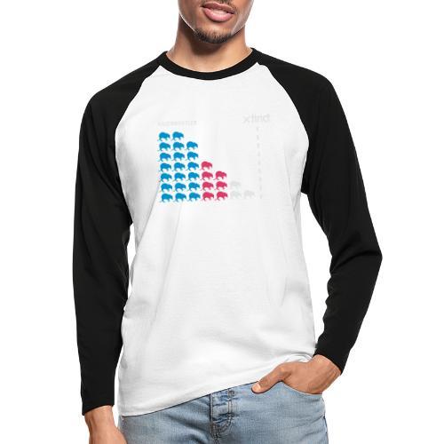 Nasenbeutler - Männer Baseballshirt langarm