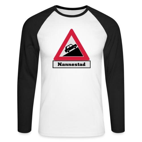 brattv nannestad a png - Langermet baseball-skjorte for menn