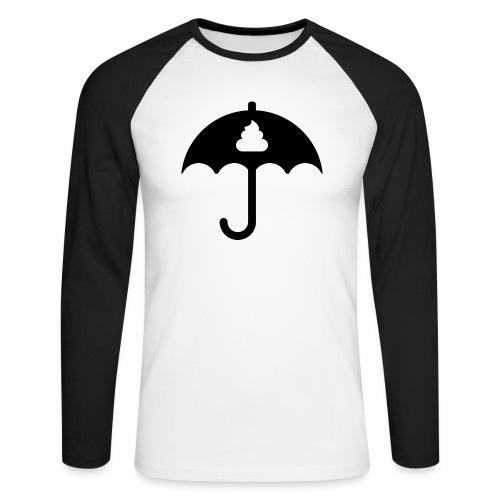 Shit icon Black png - Men's Long Sleeve Baseball T-Shirt