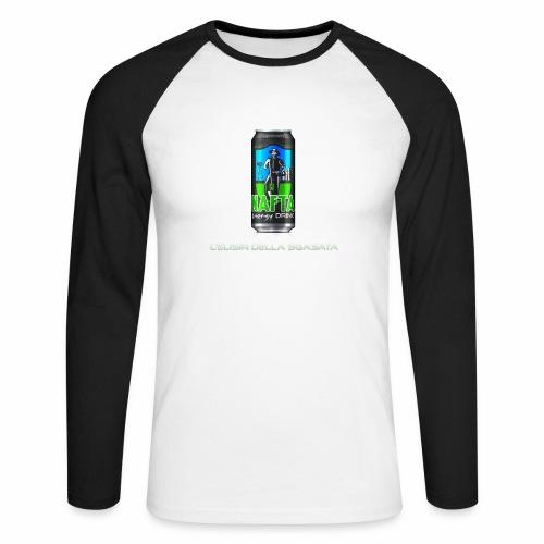 Nafta Energy Drink - Maglia da baseball a manica lunga da uomo