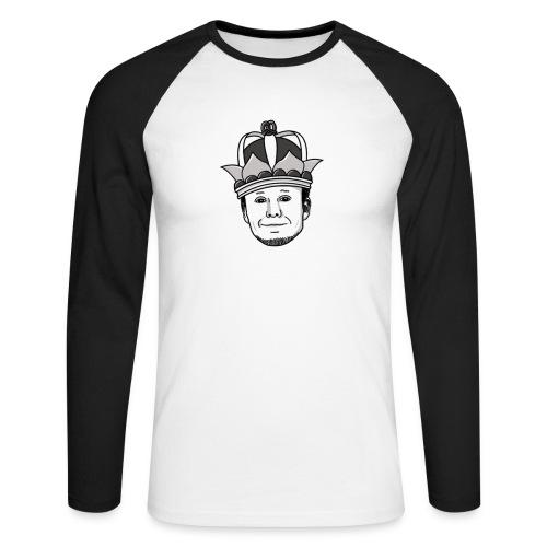 Meisterlehnsterr-Head - Men's Long Sleeve Baseball T-Shirt