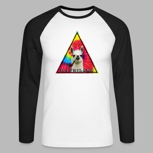 Illumilama logo T-shirt - Men's Long Sleeve Baseball T-Shirt