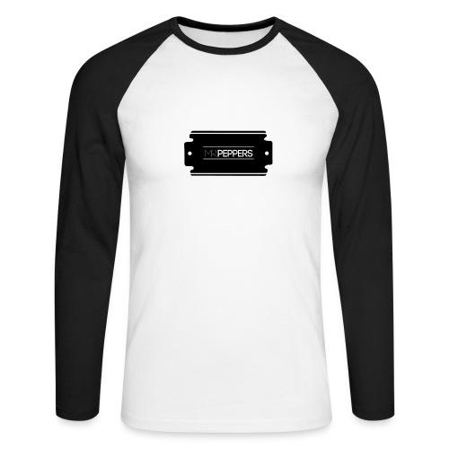 MR PEPPERS Logo classic - Männer Baseballshirt langarm