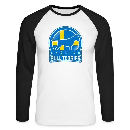 Bull Terrier Sweden - Männer Baseballshirt langarm