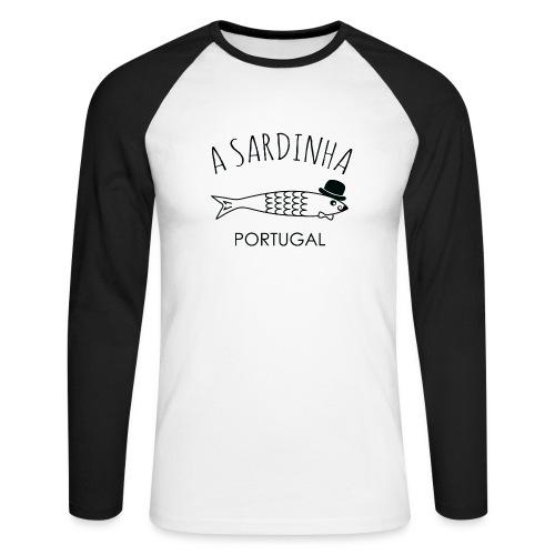 A Sardinha - Portugal - T-shirt baseball manches longues Homme