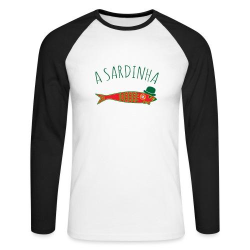A Sardinha - Bandeira - T-shirt baseball manches longues Homme