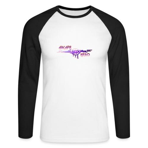 Arcade Hero - Männer Baseballshirt langarm