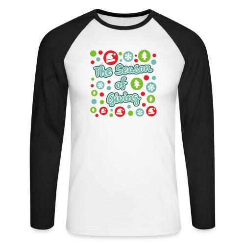 The Season of Giving - Men's Long Sleeve Baseball T-Shirt