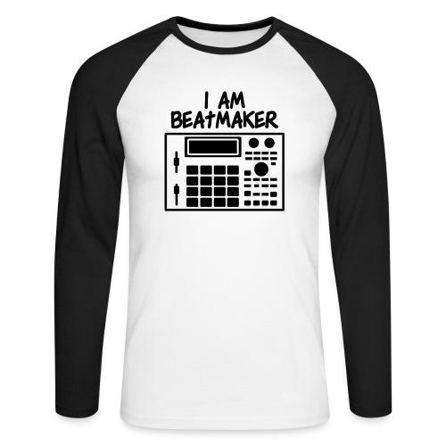 i am beatmaker - T-shirt baseball manches longues Homme