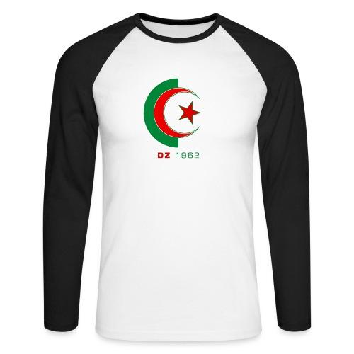 logo 3 sans fond dz1962 - T-shirt baseball manches longues Homme