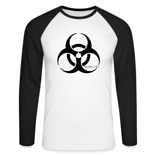 Biohazard - Shelter 142 - Männer Baseballshirt langarm