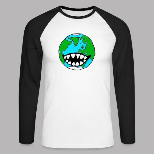 Hungry Planet - Men's Long Sleeve Baseball T-Shirt