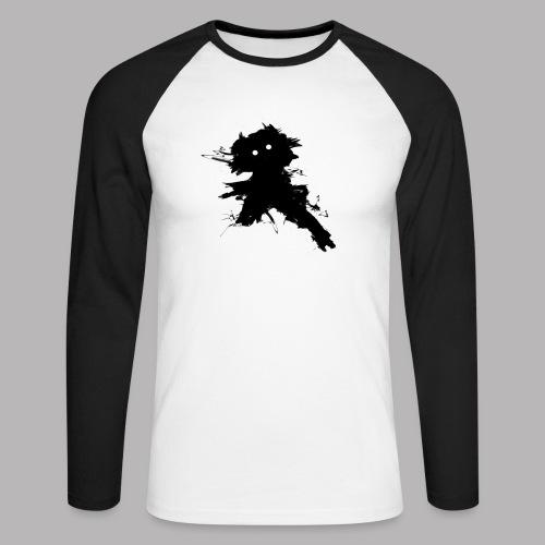 Charlie The Scratch Kid - Men's Long Sleeve Baseball T-Shirt