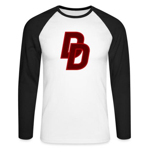 Daredevil Logo - Men's Long Sleeve Baseball T-Shirt